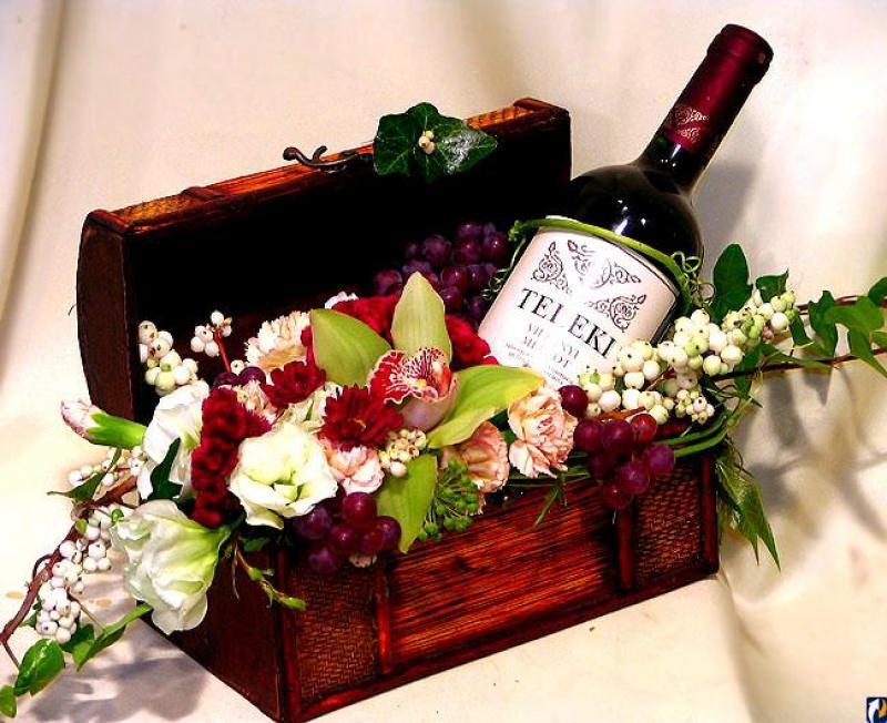 Открытка цветы для мужчины на день рождения